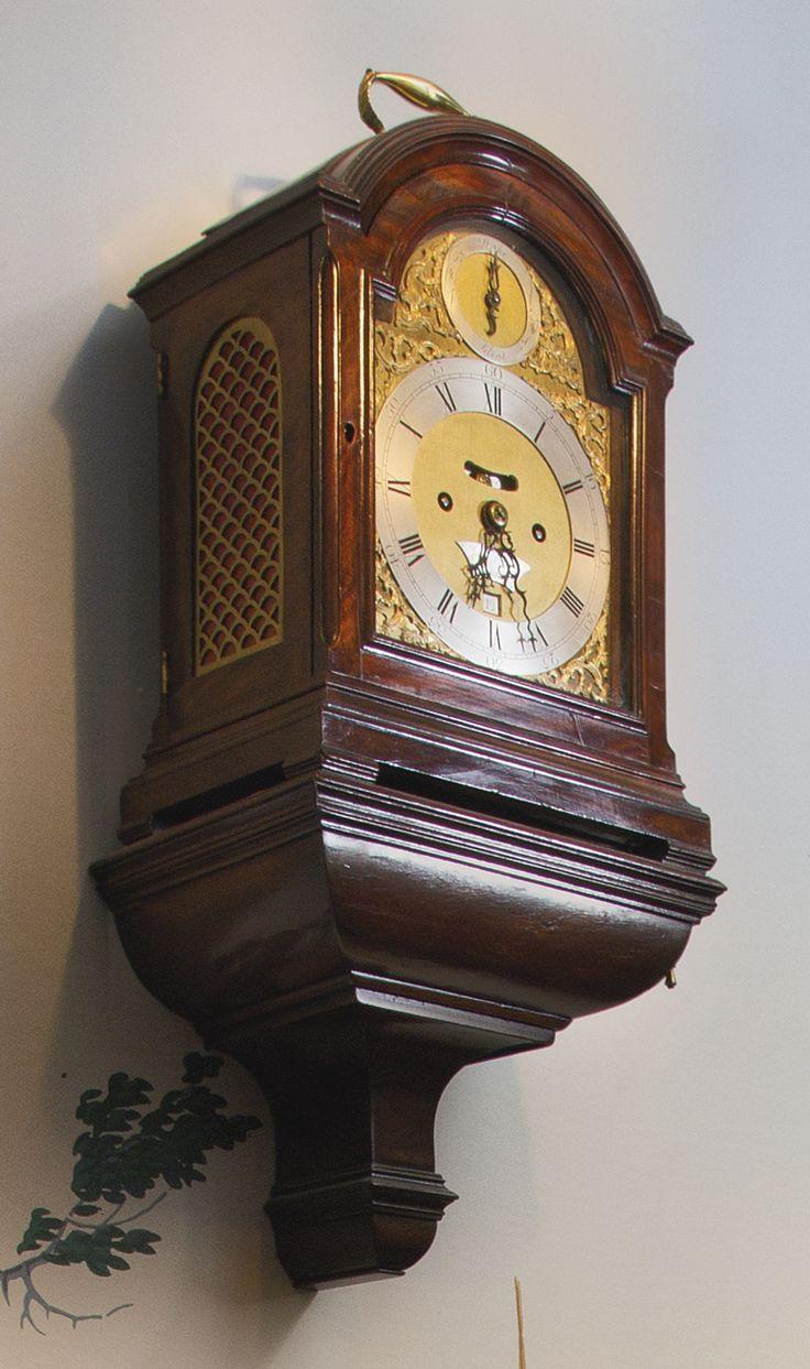 252 best wallclocks images on pinterest clock ideas wall clocks a george iii mahogany table clock circa 1770 dial signed john johnson london with a gamestrikefo Gallery