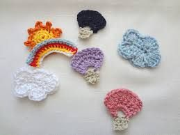 free amigurumi crochet patterns for clouds - Google Search