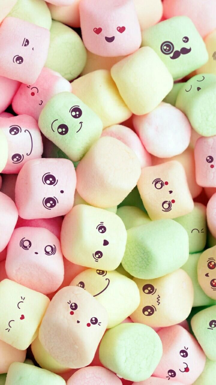 Download Kawaii Marshmallows Wallpaper By Sarchotic E Free On Zedge Now Browse Millions Of Popular Cute Wallpapers And Ringtones On Zedge And