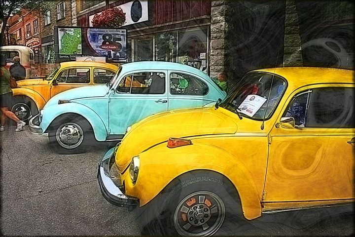 VW Beetles - Taken in Orillia, Ontario, Canada
