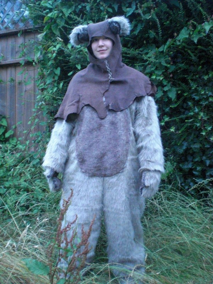 Sale Adult Ewok Costume S M By Mossyrosecb On Etsy Silly