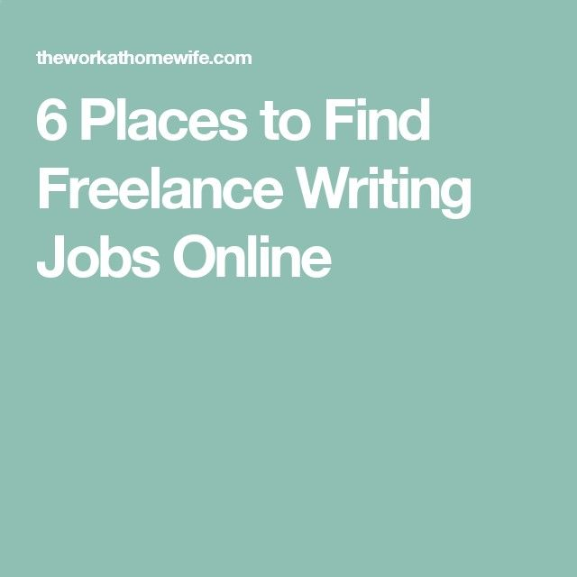 best work at home online images  6 places to lance writing jobs online