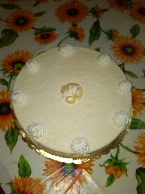 Torta bavarese  al limone