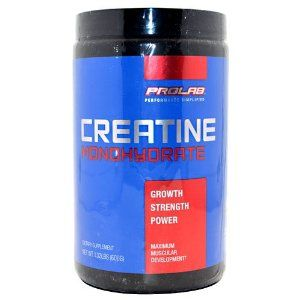PROLAB CREATINE PWDR 300 300 by ProLab. $23.26. Null. Dietary Supplement. Creatine Monohydrate. Maximum muscular development. Creatine is a natural compound found in our body that plays a powerful role in energy metabolism. Supplementation with Prolabs Creatine Monohydrate can help maximize energy output during intense training to help you reach the next level. This amazing nutrient maximizes peak strength, performance and muscular development. (These stateme…