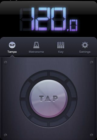 Interface, Tap Button, Numbers, Bright, Text