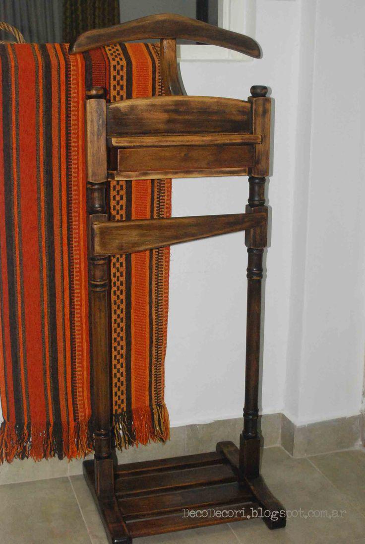 Perchero Valet En Madera Tienda Wood Furniture