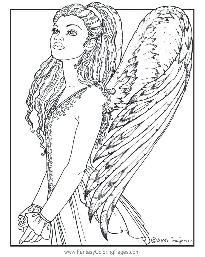 Coloring Medium Size Of Coloring Books And Angel Page Astonishing