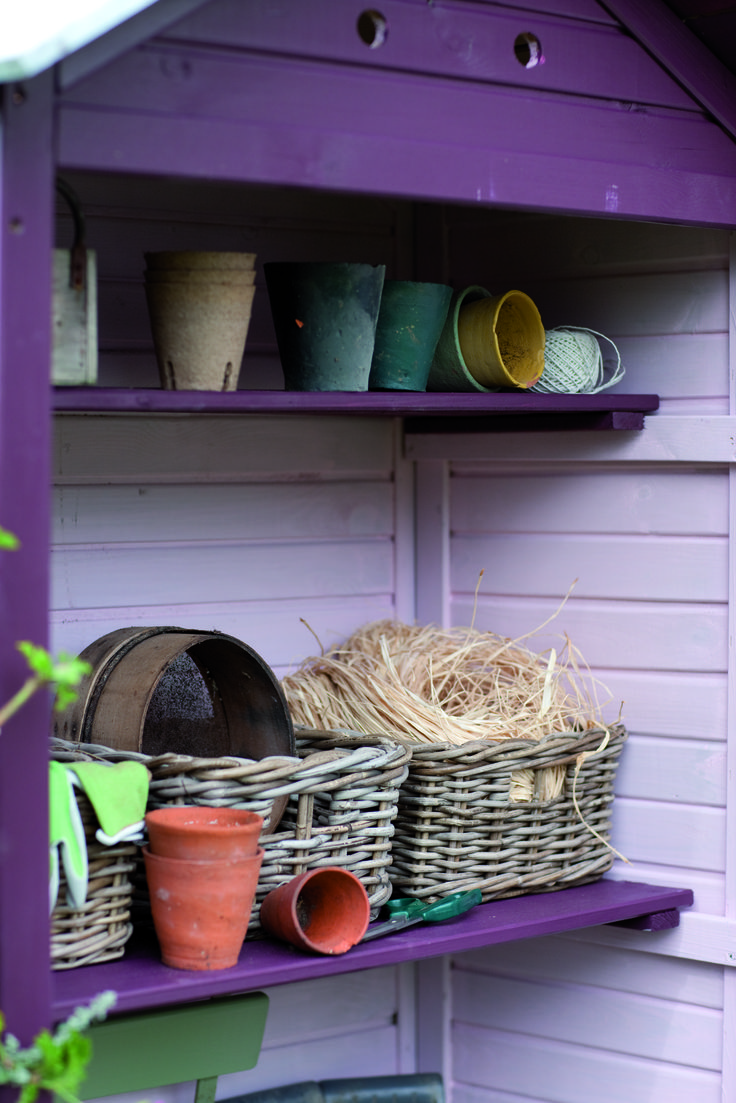 Pretty Cuprinol Garden Shades In Purple Pansy And Sweet Pea Colourful Sheds Pinterest