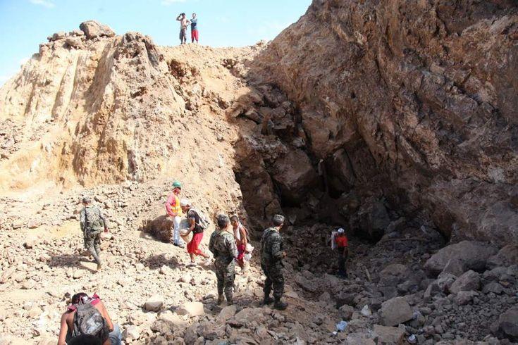 A cielo abierto extraen oro en la mina de Cuculmeca - Diario La Prensa