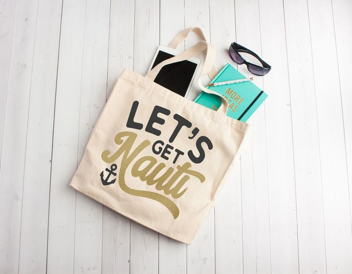 Lets Get Nauti Cruise Bags Anniversary Party Favors Beach Totes Personalized Totes Bags Totes With Zippers Jumbo Tote Bags Anniversary Party Favors Cruise Gifts Personalized Tote Bags