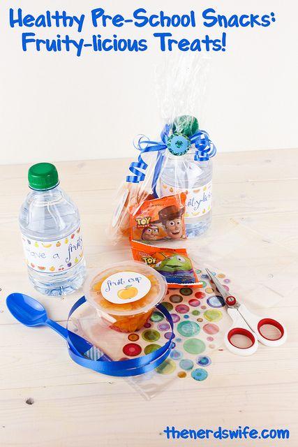 Healthy Preschool Snacks by thenerdswife, via Flickr