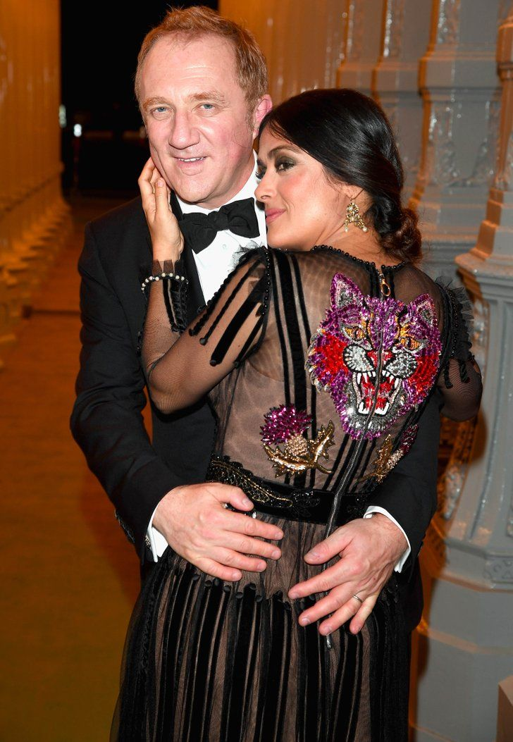 23 PDA-Filled Moments Between Salma Hayek and Her Husband, Francois-Henri Pinault