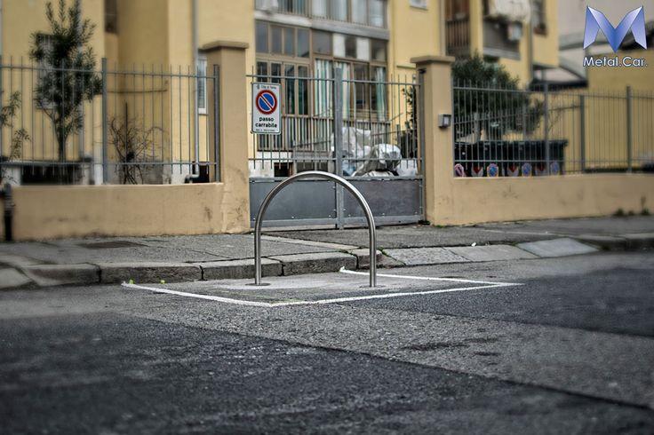 Dissuasori di Sosta ad Arco: Fabbrica di Archetti Antiparcheggio: Produzioni seriali a partire dai tubi in Acciaio Inox per tutto il Nord Italia
