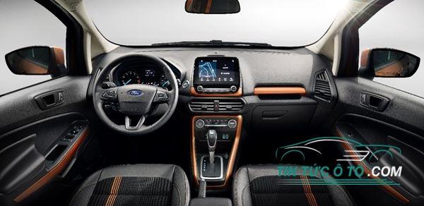 Tay lái mới của Ford EcoSport facelifted đã được vay mượn từ Ford Espace