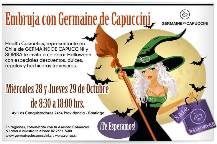 Germaine de Capuccini te invita a celebrar Halloween con descuentos en todos sus productos #germainedecapuccini
