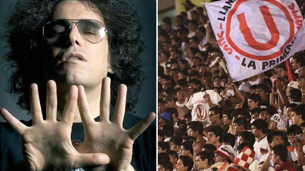 Universitario: Andrés Calamaro retuiteó foto de banderola con la letra de una de sus canciones #Depor