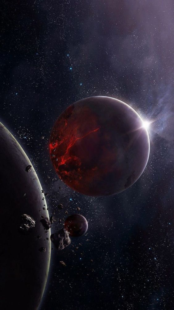 #blackholes #gargantua #black #holes | Planets wallpaper ...