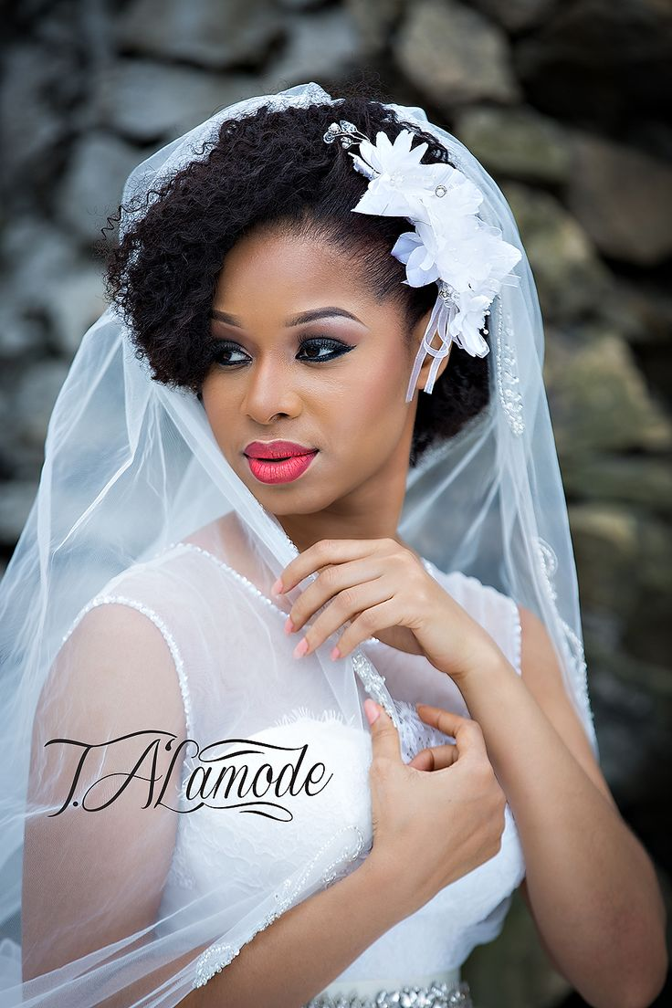 Nigerian Bridal Natural Hair and Makeup Shoot - Black Bride - BellaNaija 2015 06