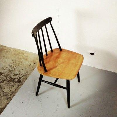 Fanett Dinner Chair by Ilmari Tapiovaara for Unknown Manufacturer