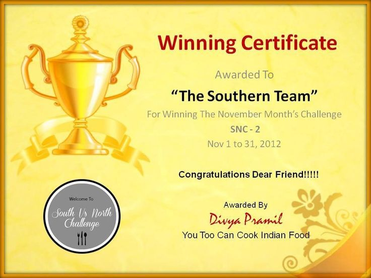 Winner Certificate Template Helloalive