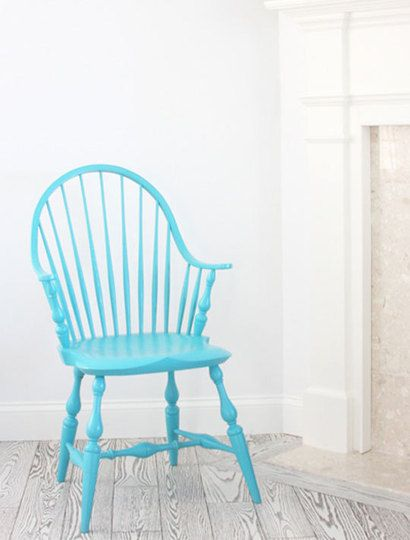 Painted furniture never goes out of style, and bright colored chairs are finding their way into the hearts and homes across America in 2012