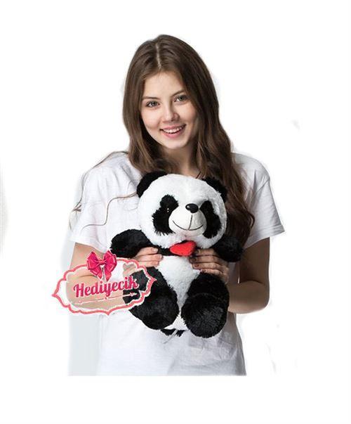 Sevimli Panda Peluş 37cm Hediye Oyuncak Panda Online Satışı
