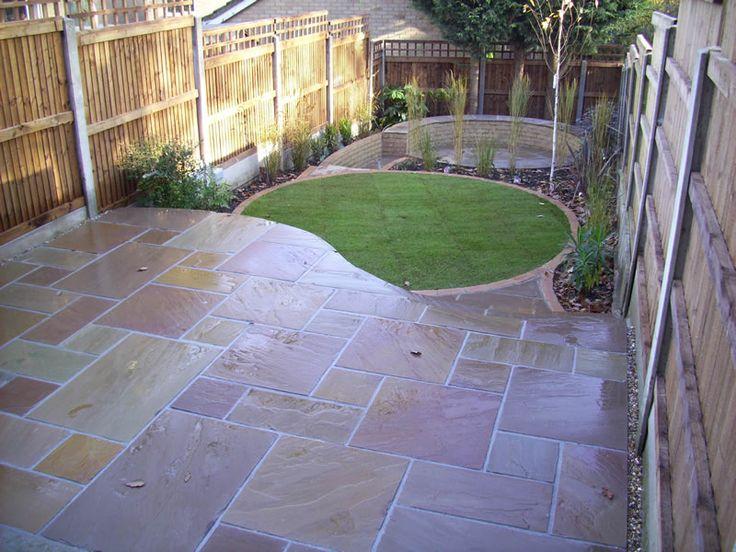 35 best split level garden images on pinterest backyard for Split level patio