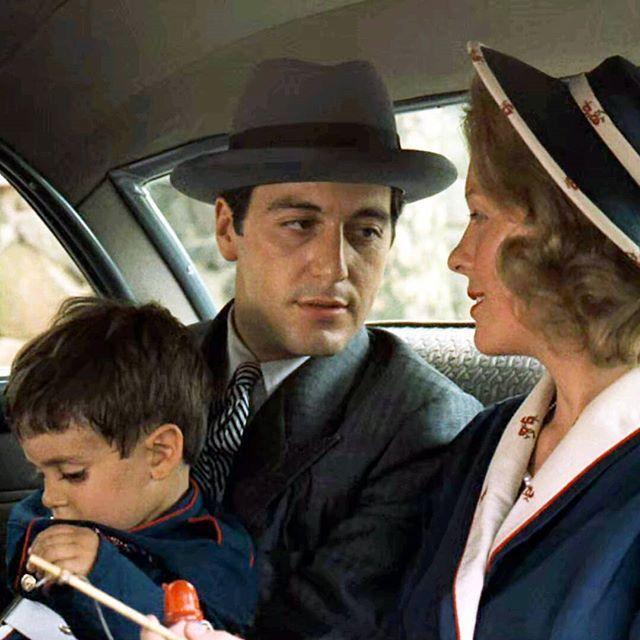 Al Pacino As Michael Corleone Diane Keaton As Kay Adams The