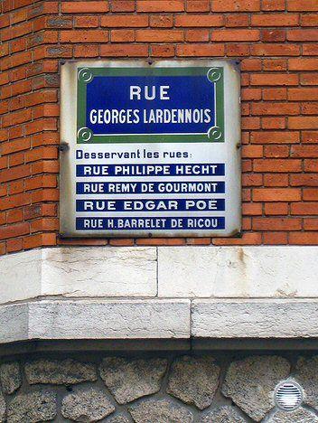 La rue Georges-Lardennois... et quatre autres  (Paris 19ème).