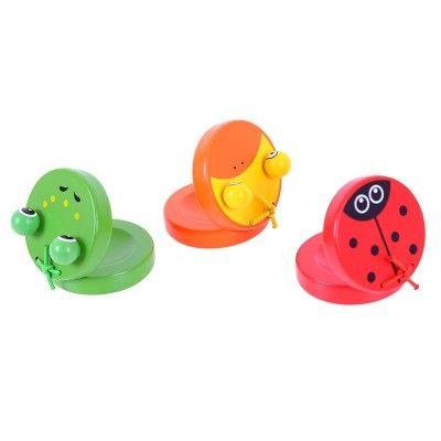 Bigjigs toys Drevené kaskanety zvieratka