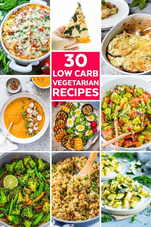 30 Low Carb Vegetarian Recipes That Are Perfect For Dinners