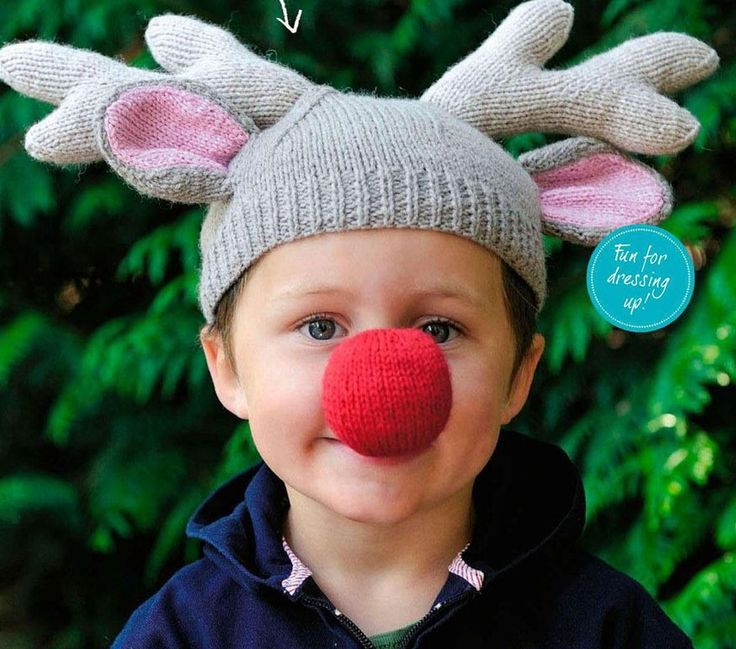 Knitting Pattern Reindeer Hat : 372 best images about diyxmas knits on Pinterest Free pattern, Christmas ...