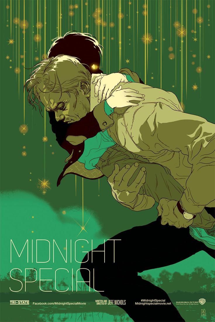Midnight Special, by Tomer Hanuka #tomerhanuka #midnightspecialprint