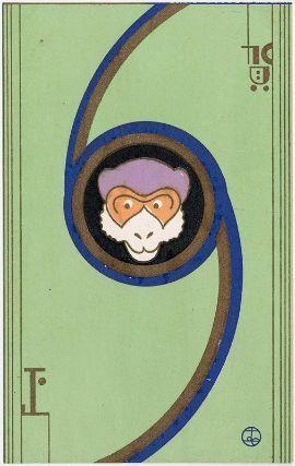 New Year's Card, Takahashi Haruka, 1932.