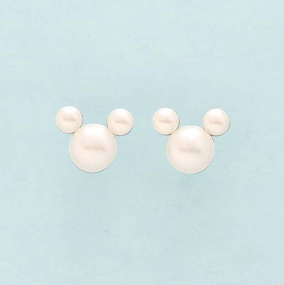 Hey, I found this really awesome Etsy listing at https://www.etsy.com/listing/224371443/mickey-mouse-earrings-disney-wedding