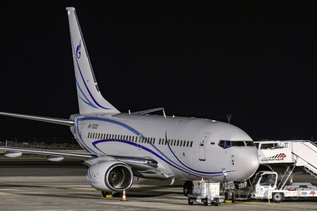 Boeing 737-600 (RA-73000) at GCTS