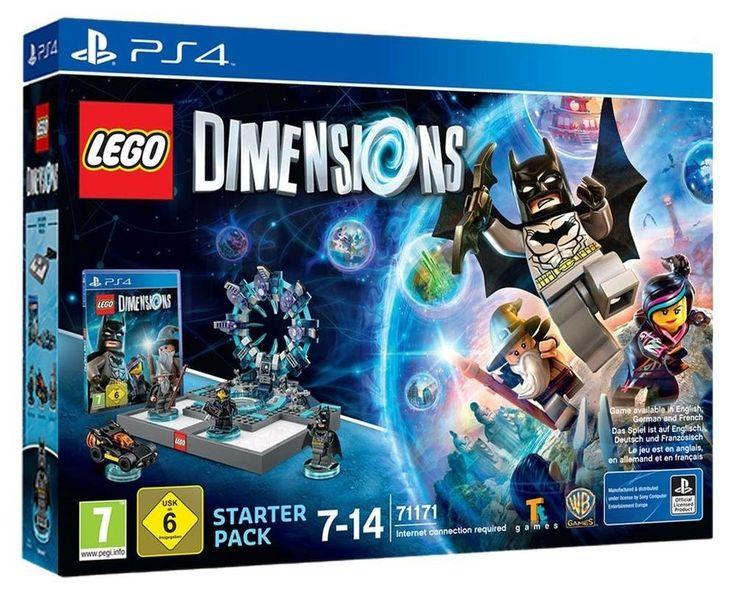 Top Preis! Bei amazon bekommt ihr das Lego Dimensions Starter Pack für die PS4 für nur 31,05€ - der geizhals.at Vergleichspreis liegt bei 59,99€.   #Amazon #Computerspiele #Konsole #Lego #Playstation #PS4