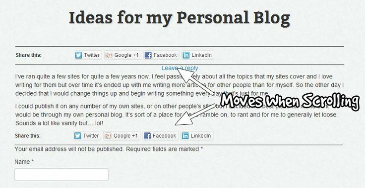 Learn how to use Bootstrap to make floating social share buttons for your WordPress site.
