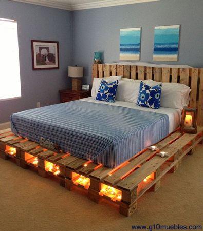 moveis de palete cama