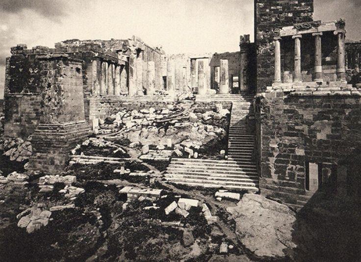 Είσοδος Ακρόπολης το 1869. ( William James Stillman 1828-1901. American journalist, photographer & diplomat).