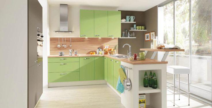 klassische Küche grün Haus Pinterest Küche grün, Klassisch - nolte k chen fronten austauschen