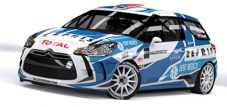 Gekon Racing - T. Pletka (Citroen DS3 R3T) - design and wrap for season 2012.