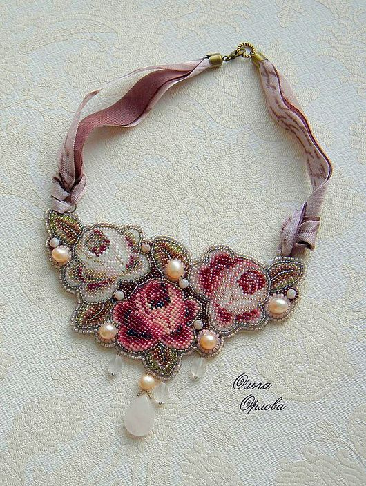 Olga Orlova is one more talanted beadwork author. She works mostly with bead…