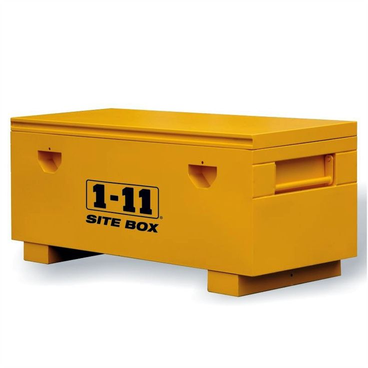 Site Box Heavy Duty Wide (1568mm wide) by One Eleven