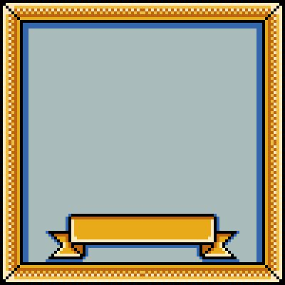 pixel art frame to name branche frame fame complete mirror by cesarloose piq