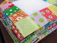 scrappy quilt tutorial This is a quick, fun project!