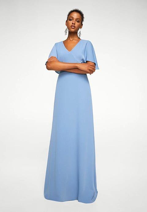 Vêtements Mango NALA-A - Robe longue - sky blue bleu clair: 89,99 € chez Zalando (au 29/10/17). Livraison et retours gratuits et service client gratuit au 0800 915 207.
