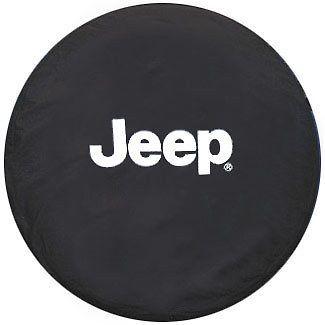 2002-2007 Jeep Liberty Tire Cover W/ White Jeep Logo MOPAR GENUINE OEM #Mopar