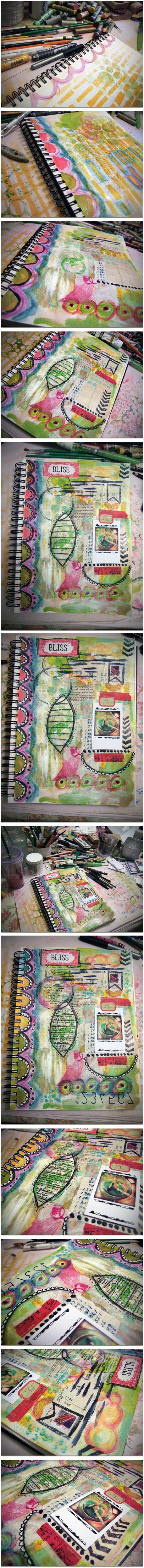 """Every Life Has a Story!"" - {Roben-Marie Smith} - Art JournalingFun..."