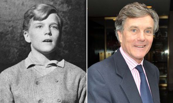 "The Von Trapp children 50 years on from ""The Sound of Music"" (1965) … This image is Nicholas Hammond when he portrayed Friedrich Von Trapp in the movie musical and now, 50-years later."